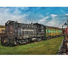 Train - Baldwin Locomotive Works Photographic Print