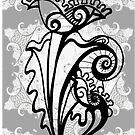 Elegant B & W - Card by MelDavies
