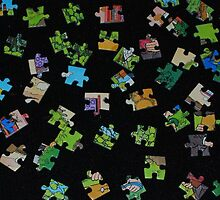 puzzle pieces by Gemma Wilson