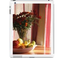 Marigolds and fresh produce iPad Case/Skin
