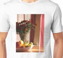 Marigolds and fresh produce Unisex T-Shirt