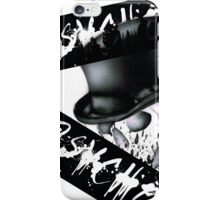 PSYCHO TOPHAT SKULL iPhone Case/Skin