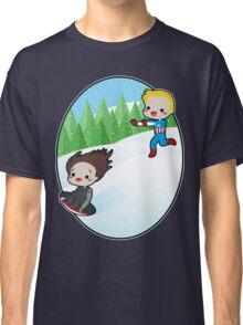 The Winter Sledder Classic T-Shirt