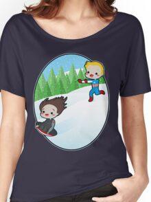 The Winter Sledder Women's Relaxed Fit T-Shirt