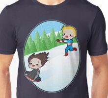The Winter Sledder Unisex T-Shirt