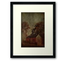 small house Framed Print