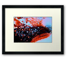 The Past Is the Past Framed Print