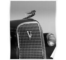 1937 Cadilac V12 Poster