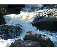 The Rocky Creek Glacier - Narrabri Photographic Print