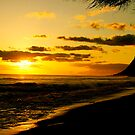 hawaiian sunset by HeatherMScholl