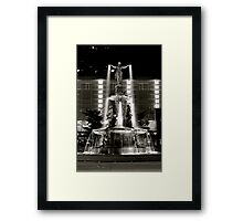 Fountain Square, Cincinnati Framed Print