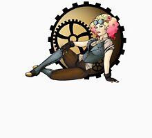 Steampunk Pilot Pinup Girl Unisex T-Shirt