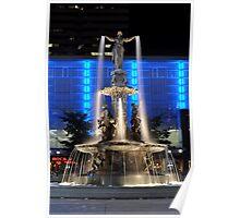 Fountain Square, Cincinnati, Oh Poster
