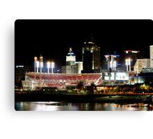Cincinnati ballpark Canvas Print