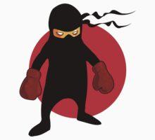 Ninja by Chillee Wilson Kids Tee
