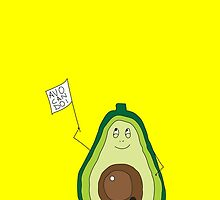 Optimistic Avo by blimey
