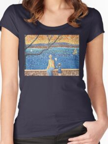 When the Boats Sail Women's Fitted Scoop T-Shirt