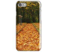 Autumn carpet iPhone Case/Skin