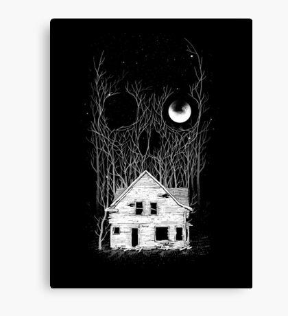 House of Death Canvas Print