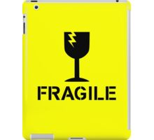 Fragile by Chillee Wilson iPad Case/Skin