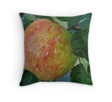 An apple a day..... Throw Pillow