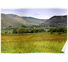 Back of Skiddaw Mountain Poster