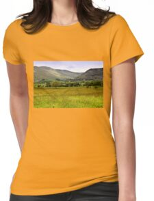 Back of Skiddaw Mountain Womens Fitted T-Shirt