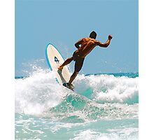 KING  OF  WAVES Photographic Print