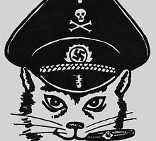 Nazi Cat by michaelwpg