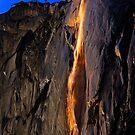 Horsetail Fall at sunset by julayneluu