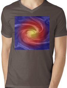 Blue Velvet Abstract- Art + Products Design  Mens V-Neck T-Shirt