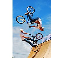 WHEELS FLY Photographic Print