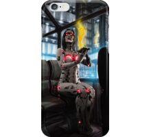 Cyberpunk Painting 056 iPhone Case/Skin