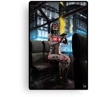 Cyberpunk Painting 056 Canvas Print