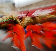 Chinese New Year Zoom Blur by Sven Brogren