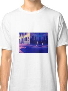 Urban Night Scene 3 Classic T-Shirt