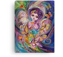The Fairies of Zodiac series - Pisces Canvas Print