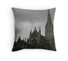 Saulsbury Cathedral Throw Pillow