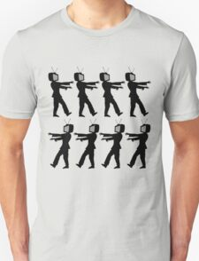 March of the Zombie TV Guys by Chillee Wilson Unisex T-Shirt