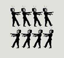 March of the Zombie TV Guys by Chillee Wilson T-Shirt
