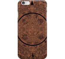 Aztec Calendar by Chillee Wilson iPhone Case/Skin