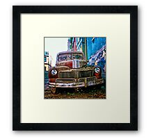 WRECKAGE Framed Print