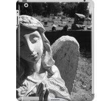 Silent Angel, Black and White iPad Case/Skin