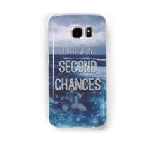Second Chances Lyrics Samsung Galaxy Case/Skin