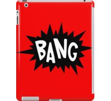 Cartoon Bang by Chillee Wilson iPad Case/Skin