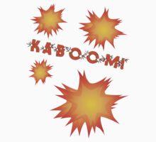 KABOOM by Chillee Wilson Kids Tee