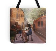 Cappuccino Courtyard Tote Bag