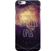 Hopeless Opus Lyrics iPhone Case/Skin