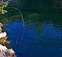 """The Fishing Hole-Kootenay, British Columbia, Canada"" by Bruce Jones"