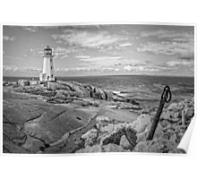 Peggy's Cove Light II Poster
